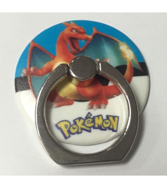 Pokemon Rotating Ring Stand Holder - CHARIZARD