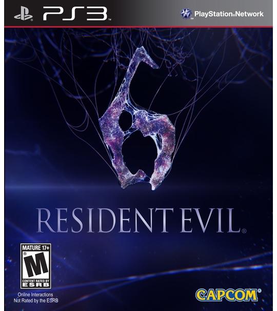 PS3 RESIDENT EVIL 6 - ALL