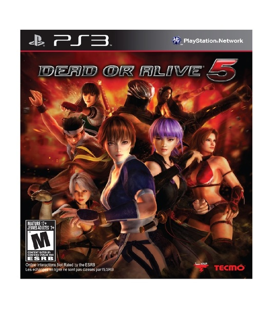 PS3 DEAD OR ALIVE 5 - R2