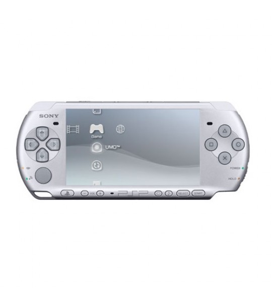 Sony Psp 3006 Slim & Lite - Satin Silver Full Offer Bundle