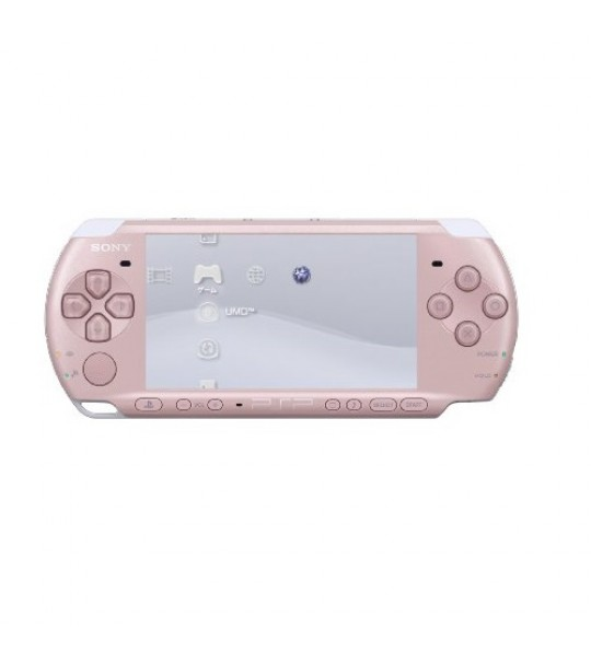 Sony Psp 3006 Slim & Lite -Pink Full Offer Bundle