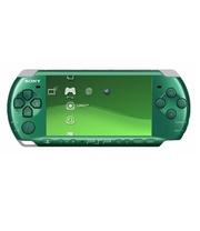 Sony Psp 3006 Slim & Lite -Spirited Green Full Offer Bundle