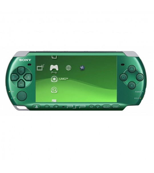 Sony Psp 3006 Slim & Lite -Spirited Green Full Offer Bundle