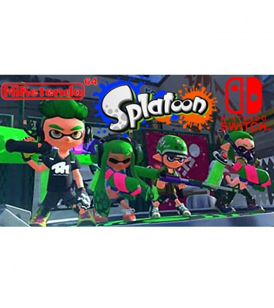Switch Splatoon 2 -US