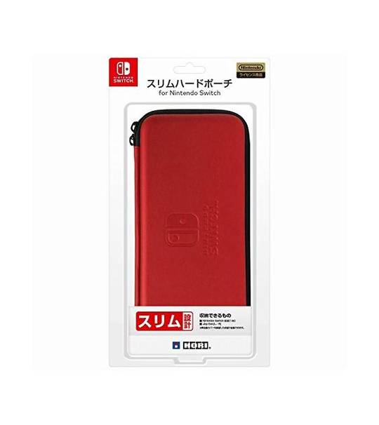 Nintendo Switch Slim Hard Pouch - Red