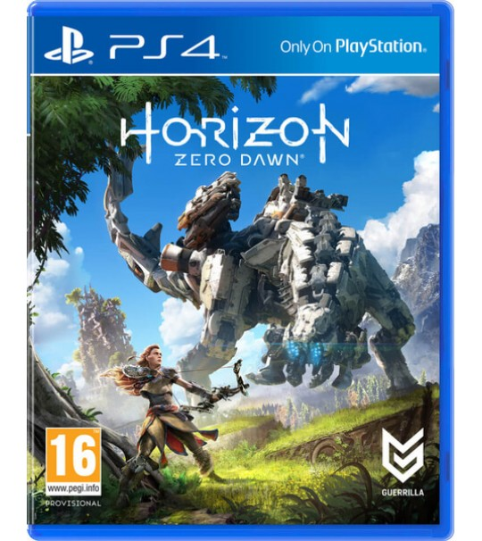 PS4 HORIZON ZERO DAWN ALL ENG/CHINESE