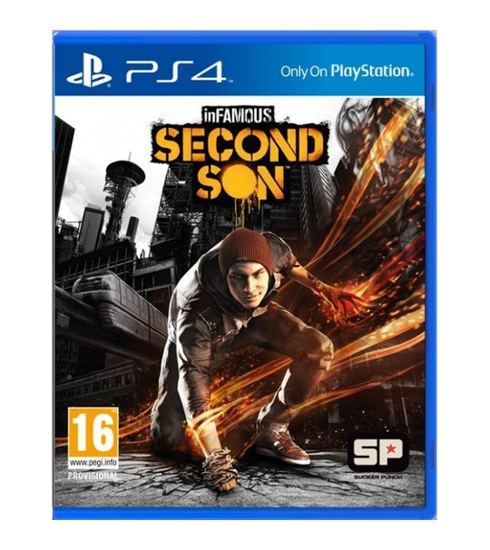 PS4 INFAMOUS SECOND SON R3