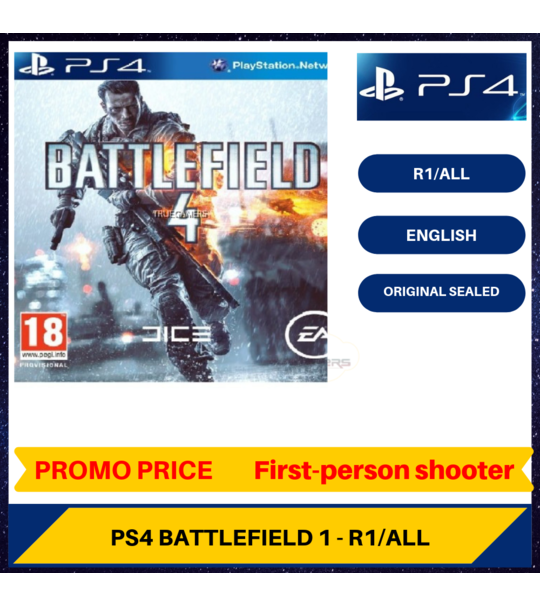 Ps4 Battlefield 4 - R1/ALL