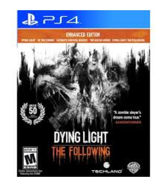 PS4 DYING LIGHT THE FOLLOWING ENHANCE EDITION - R2
