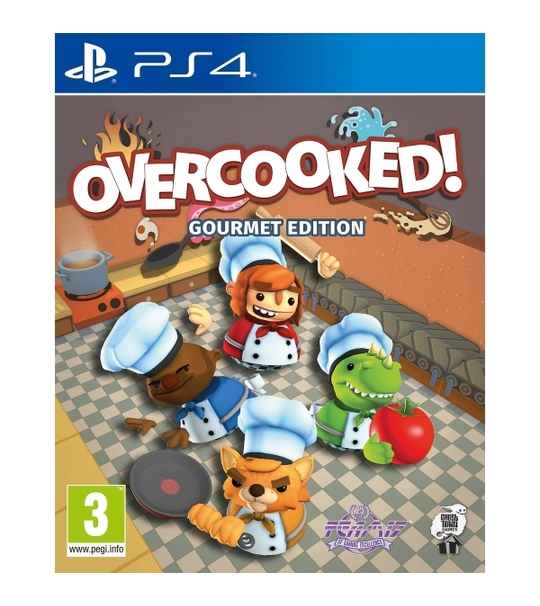 PS4 OVERCOOKED GOURMETT EDITION R1/ALL