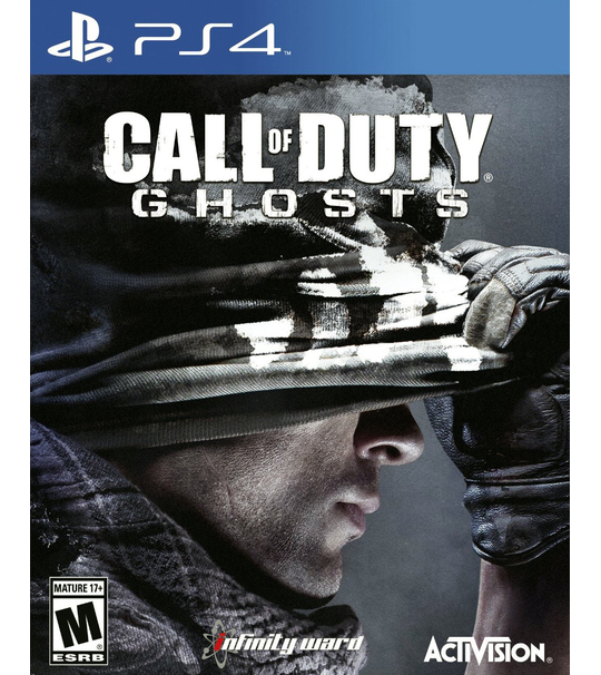 Ps4 Call of Duty : Ghosts - R1/ALL