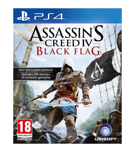 Ps4 Assassin's Creed IV Black Flag English R1/ALL