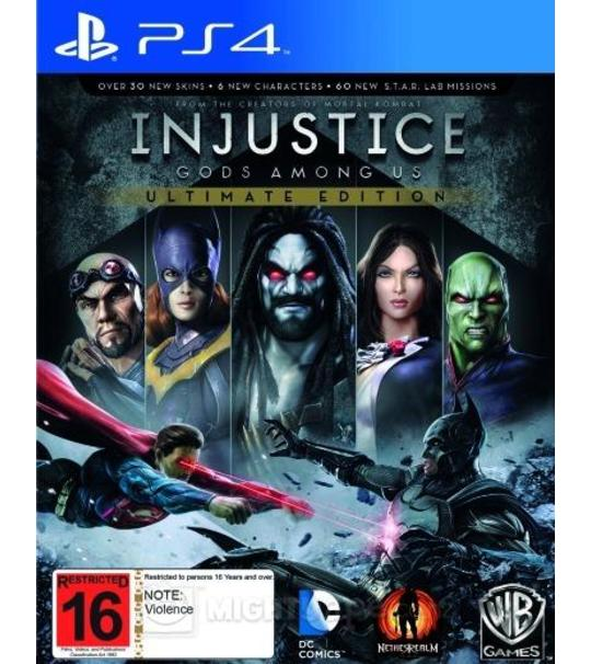 Ps4 Injustice Gods Among Us Ultimate Edition-R2