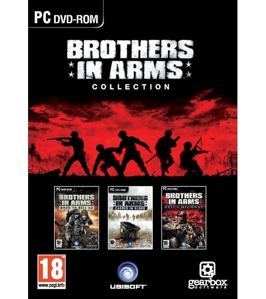 PC BROTHERS IN ARMS COLLECTION(1+2+3)