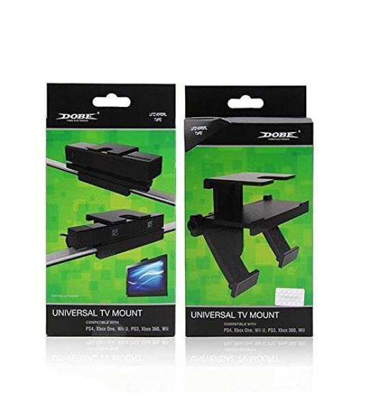 DOBE Universal TV Mount Holder Stand Bracket for Playstation Eye / XBOX 360 / Wii / Wii U / XBOX ONE Kinect Camera(TYX-530)