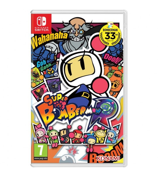 Nintendo Switch SUPER BOMBER MAN R (ENG)