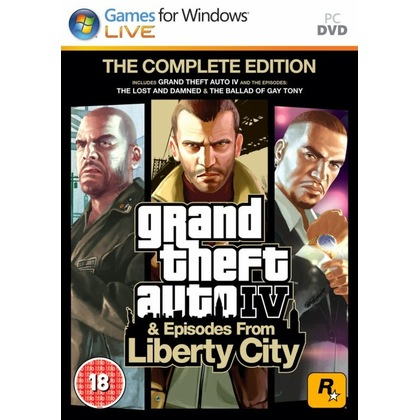 PC Grand Theft Auto IV: Complete Edition