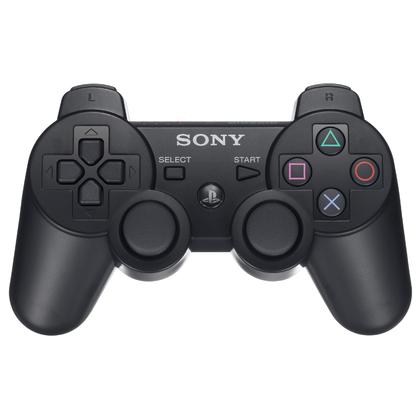 Ps3 Dual Shock 3 Controller Black Original