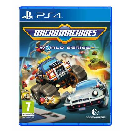 PS4 MICRO MACHINES WORLD SERIES R2