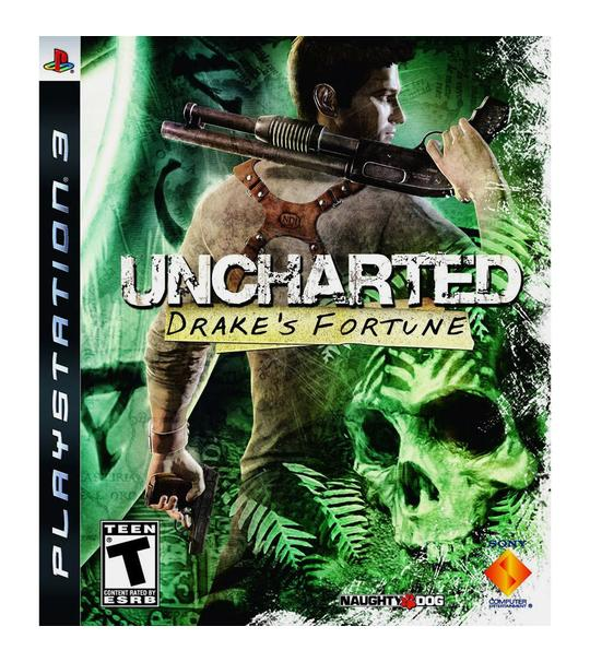 PS3 UNCHARTED: DRAKES FORTUNE - R1