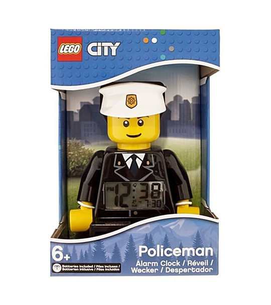 Lego Mini Figure Clock Policeman Original (9002274)