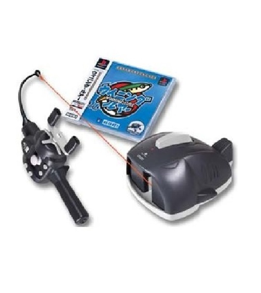 Ps2/Ps1 Hori WINNING LURE With FISHING ROD machine -HPS 97