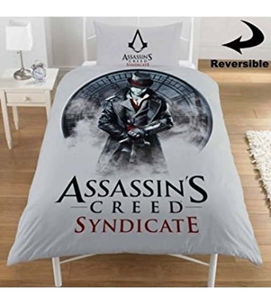 Assassins Creed Syndicate Single Reversible Duvet Cover Set