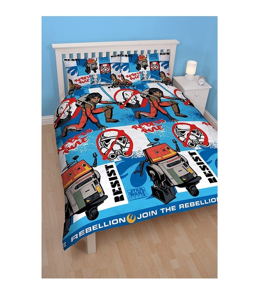 Disney Star Wars Rebels Tag Double Rotary Duvet Cover Set