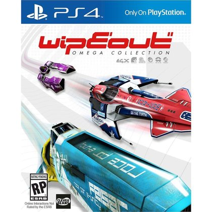 Ps4 Wipeout Omega Collection - All Chi/Eng