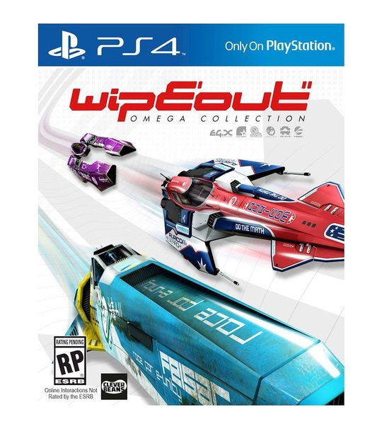 Ps4 Wipeout Omega Collection R1/ALL