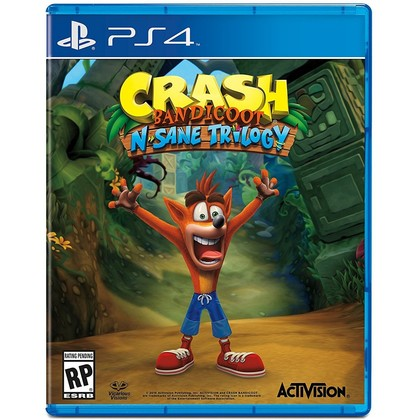 PS4 CRASH BANDICOOT N-SANE TRILOGY R2