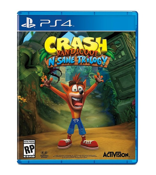 Ps4 Crash Bandicoot N Same Trilogy R2