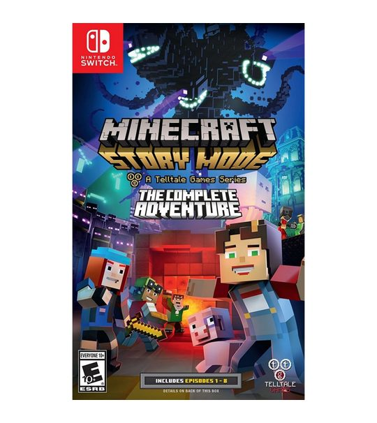 Switch Minecraft Story Mode The Complete Adventure