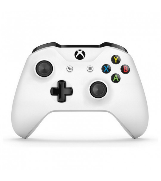 Xbox One Wireless Controller With 3.5mm Jack & Bluetooth Lunar White