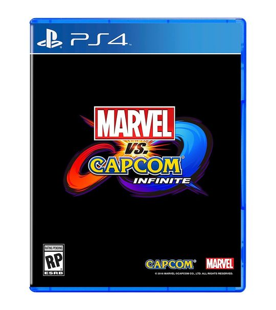 Ps4 Marvel Vs Capcom Infinite R2 With Official Poster
