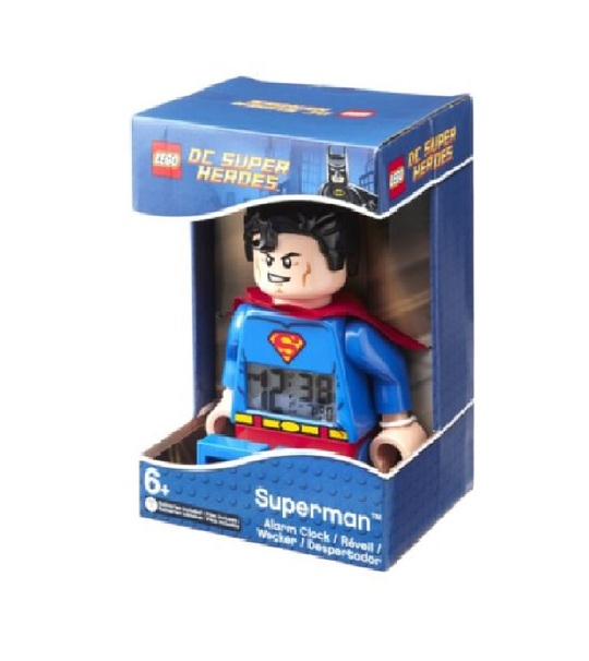 LEGO KIDS MINI FIG CLOCK SUPERMAN (9005701)