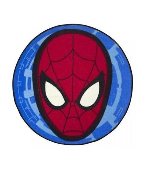 Disney Marvel Spiderman Head Shaped Rug Original