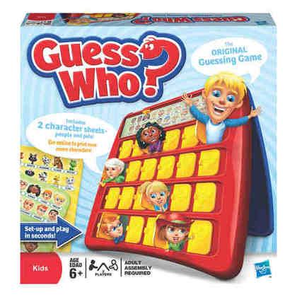 Guess Who Board Game Original