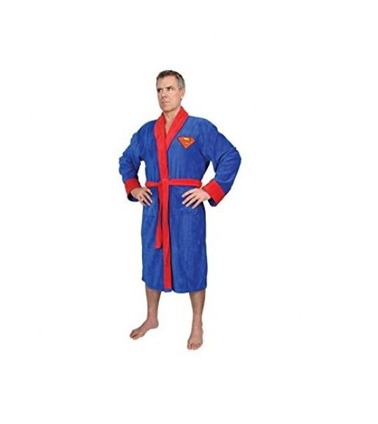 Superman DC Comics - Fleece - Superman Logo - Adult One Size