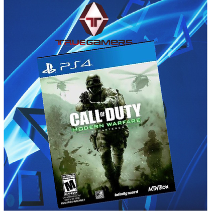 PS4 CALL OF DUTY MODERN WARFARE REMASTERED R2
