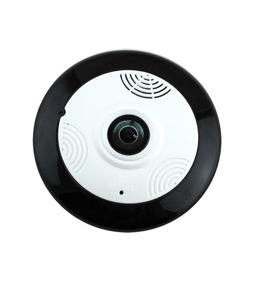 F-SHEILD 0111W FishEye HD Wifi Panoramic 360 Degree Smart Home Office Retails IP Camera