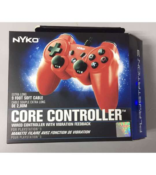 PS3 NYKO CORE CONTROLLER ORANGE