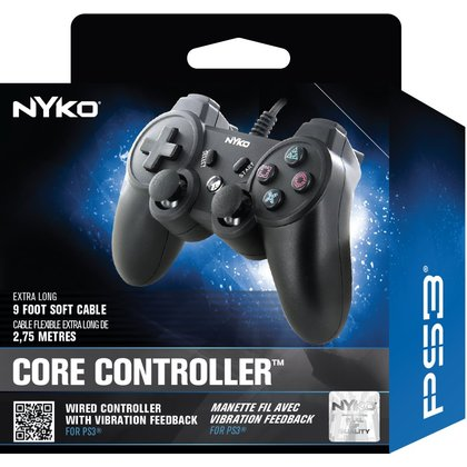 PS3 NYKO CORE CONTROLLER BLACK