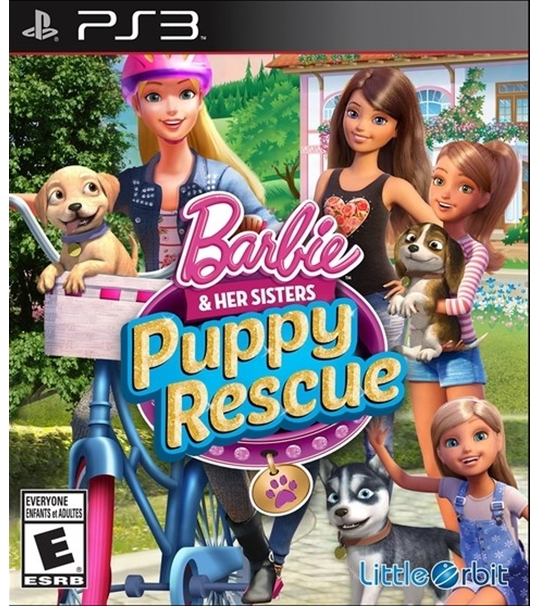 PS3 BARBIE AND HER SISTER PUP - R1/ALL
