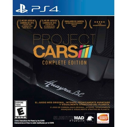 PS4 PROJECT CAR COMPLETE EDITION R1/ALL