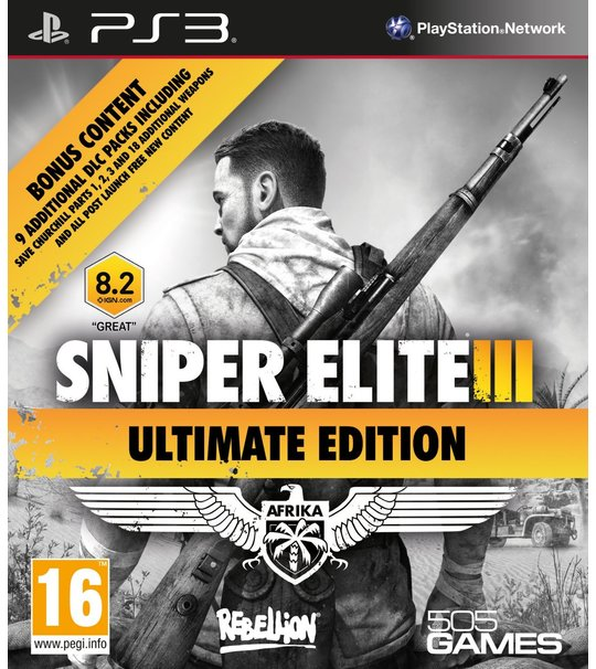 PS3 SNIPER ELITE III ULTIMATE ED - R1/ALL