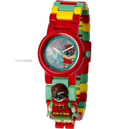 Lego Kids Mini Figure Watch Robin Original (8020868)