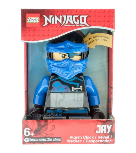 Lego Kids Mini Figure Clock NINinjago Sky Pirates Jay (9009433)