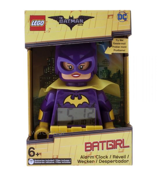 Lego Kids Mini Figure Clock Lego Batman Movie : Batgirl (9009334)