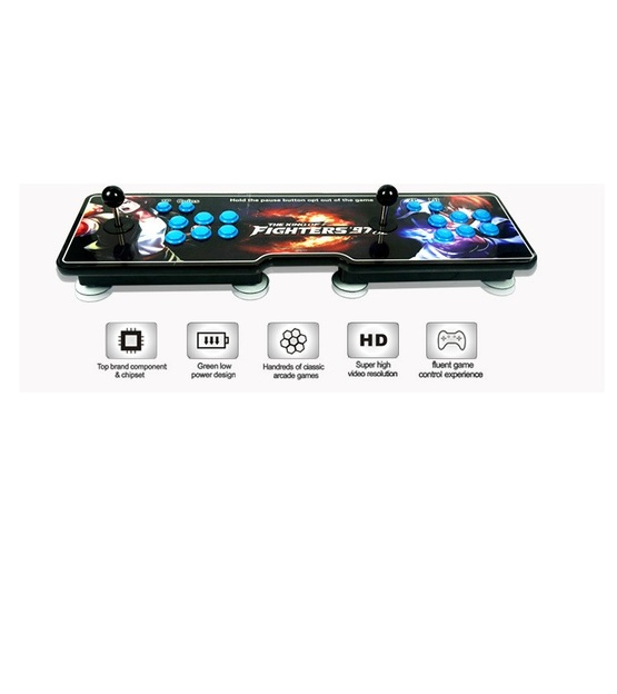 Pandora Lunar Box 4S Slim version HDMI Output With 815 game inside-Wood Material